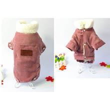 1 Pcs Pet Dog Puppy Clothes Coat Thicken Warm Clothing Comfortable For Winter Hot Sale