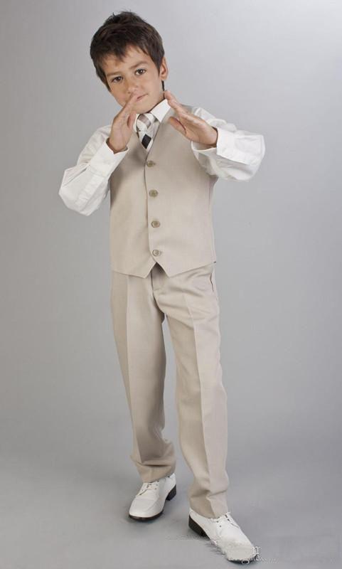 f6ad9230e1 Boys Grey Suit Communion Suit First Communion Red Chalice Tie/Boy's Formal  Wear Tuxedos/Children Wedding Blazer/Kid Boy Suits