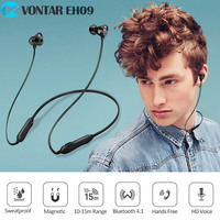Blutooth Wireless Earphone IPX4 Sweatproof Sports Headset Bluetooth Headphone Magnetic With Mic Neckband Noise Cancel Anti Drop