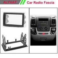 Car Radio Fascia for CITROEN Jumper / PEUGEOT Boxer/ FIAT Ducato 2006+ Stereo Fascia Dash CD Trim Installation Kit