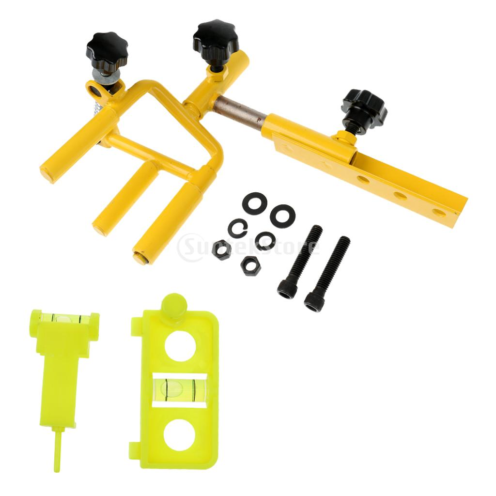 Universal Adjustable Archery Parallel Bow Vise Arrow Tuning and Mounting Bow String Level Combo Shooting Equipment