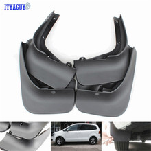 High quality For Sharan Mudguards Splash guards fender flare Mud Flap mudflaps Mudguard 4PCS Car accesories