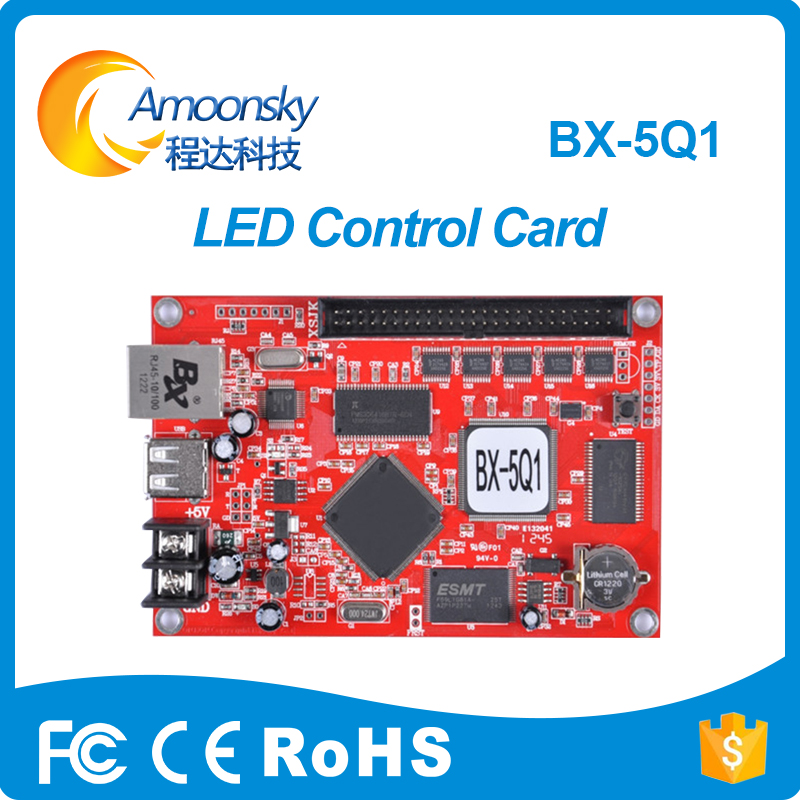 Factory Price Bx-5Q1 P10 Led Display Control Card For Scrolling Led Sign Display BoardFactory Price Bx-5Q1 P10 Led Display Control Card For Scrolling Led Sign Display Board