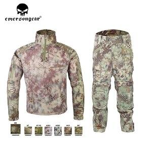 Image 3 - Emersongear HERREN Camouflage anzug Tactical Sportwear Militär Kampf Trainingsanzug Herbst & Winter Lange Ärmeln Herren Sport Anzüge