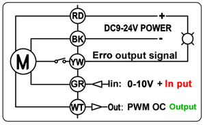 Image 5 - Brass/Stainless Steel 1 Proportional Valve 0 10V 4 20mA 0 5V 2 Way DN25 Voltage DC12V DC24V For Water Modulating Control