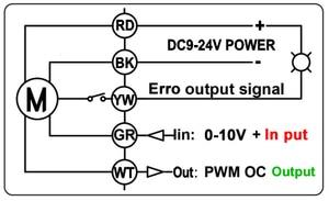 Image 5 - In ottone/Acciaio Inox 1 Valvola Proporzionale 0 10V 4 20mA 0 5V 2 Way DN25 tensione DC12V DC24V Per Acqua Controllo Modulante