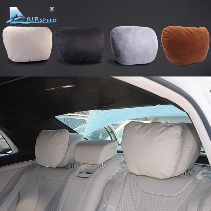 Fluggeschwindigkeit 2 stücke Maybach Design S-klasse Auto Kopfstütze Nacken Unterstützt kissen Sitzkissen für Mercedes Benz W204 W203 W211 W210 W212