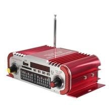 Mini HiFi Car Home Power Amplifier FM Radio USB SD Audio MP3 Player with Remote New Arrival