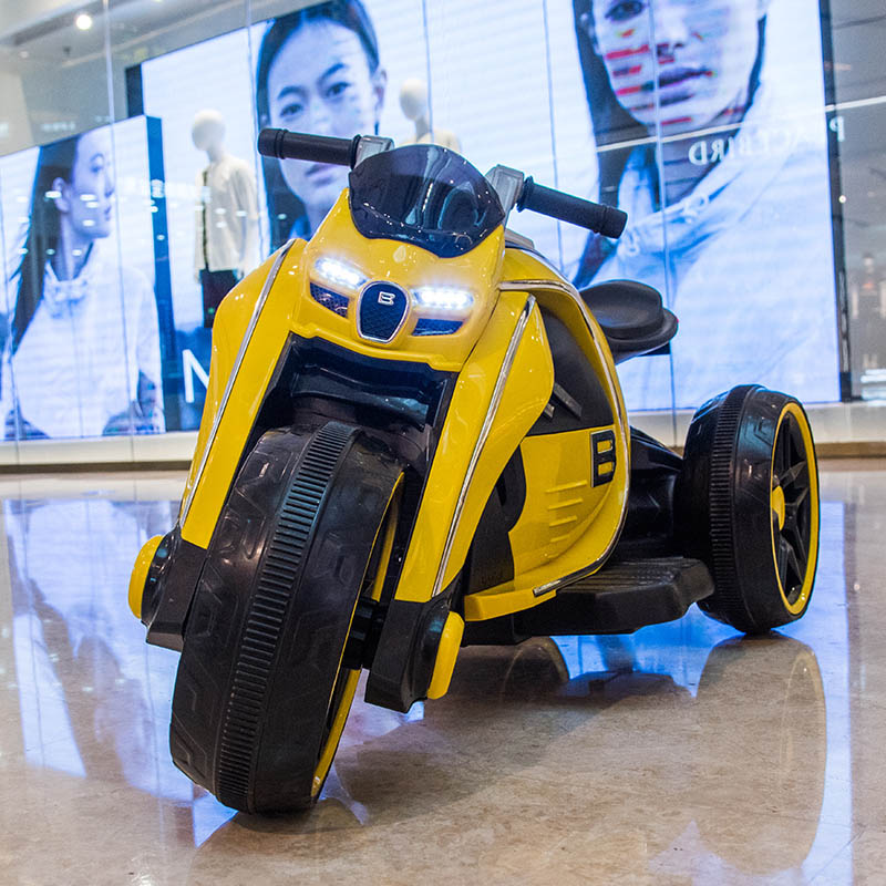Factory offer ! Children's electric motorcycle tricycle kids toy car baby battery car charging can sit 2-7 years old boy or girl Remote control toys 1ef722433d607dd9d2b8b7: China
