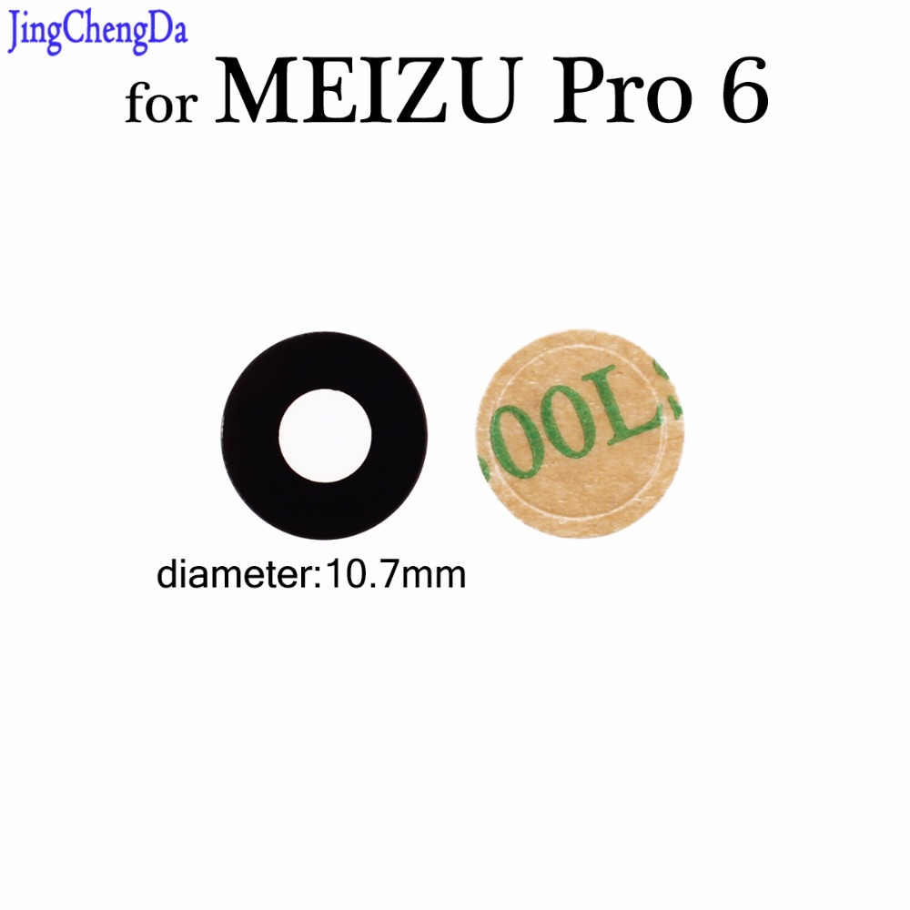 JCD Glass-Lens MEIZU Rear-Back-Camera Repair-Spare-Parts 6-Replacement 1pcs For PRO
