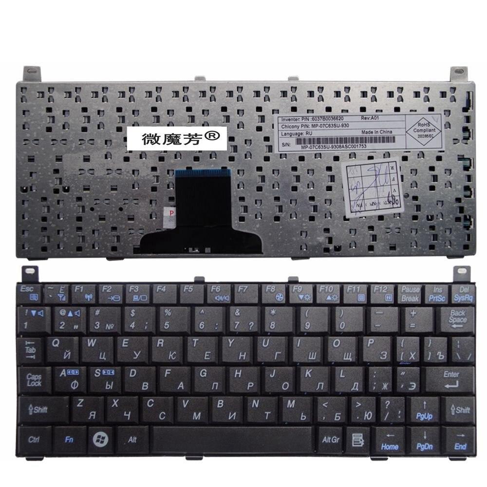 RU black New FOR TOSHIBA NB100 NB101 NB105 Laptop Keyboard Russian