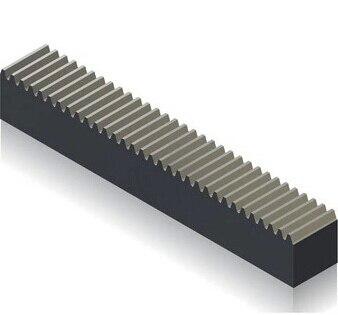 2 teile/los 1M-10X10X200MM Präzision Metall Transmission Spur Rack Getriebe Rutsche Schiene