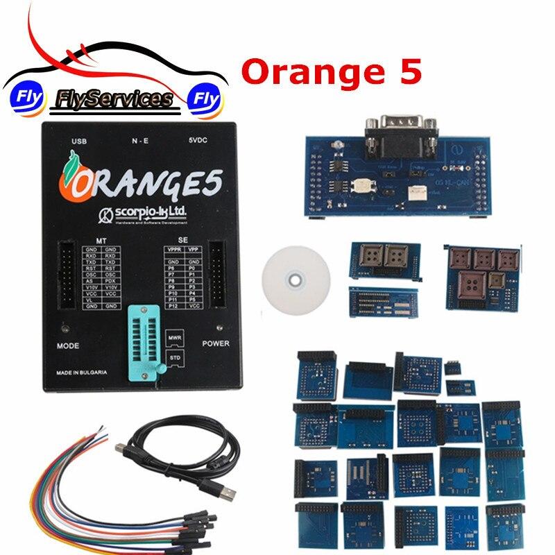 2017 Release Orange 5 Programming Device With Full Packet Hardware + Enhanced Function Software OEM Orange5 Programmer