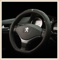 HOT SALE Genuine Leather Car Steering Wheel Covers Fit For Peugeot 408 307 308S 3008 301