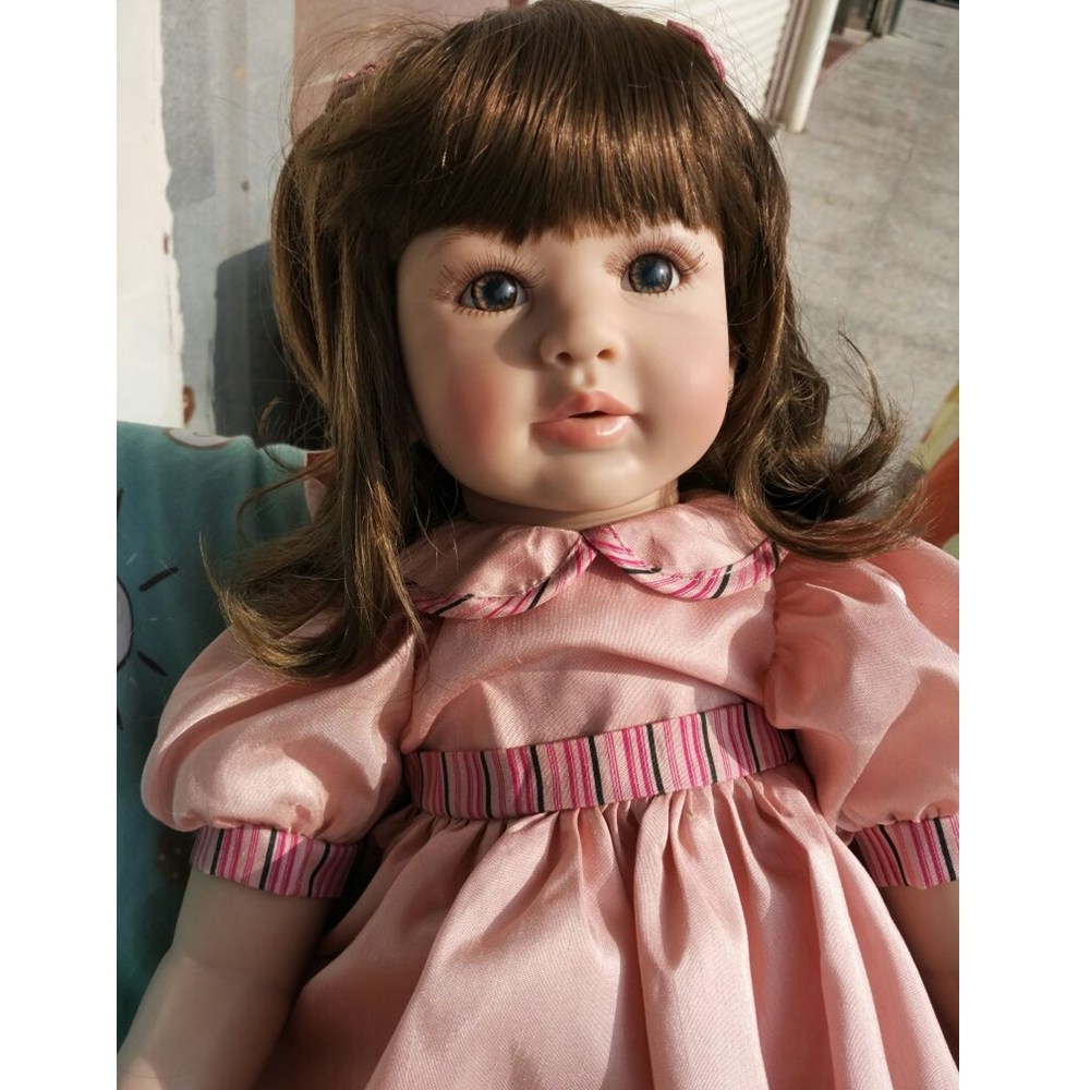 22 Soft Sweet Baby Dolls Girl Gift Toys Princess Baby Doll Lifelike Realistic Reborn Baby Doll for Kids Playmates Birthday Gift22 Soft Sweet Baby Dolls Girl Gift Toys Princess Baby Doll Lifelike Realistic Reborn Baby Doll for Kids Playmates Birthday Gift