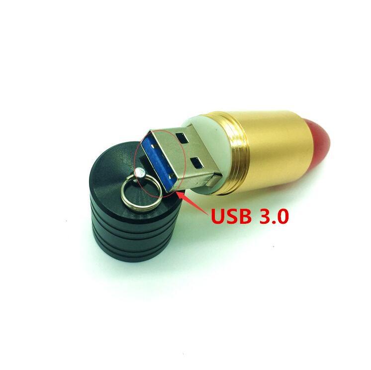 Hoge Snelheid Lipstick Vorm USB 3.0 Flash Drive Mode 4G 8 GB 16 GB 32 - Externe opslag - Foto 2