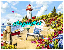 5d full square diamond painting lighthouse diamant embroidery scenery beach flowers mosaic picture oil paint by number big size(China)