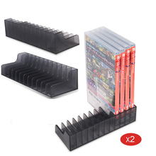 2 Pcs Game Card Box Storage Stand CD Disk Holder For Nintend Switch NS Nintendoswitch Cartridge Support 24