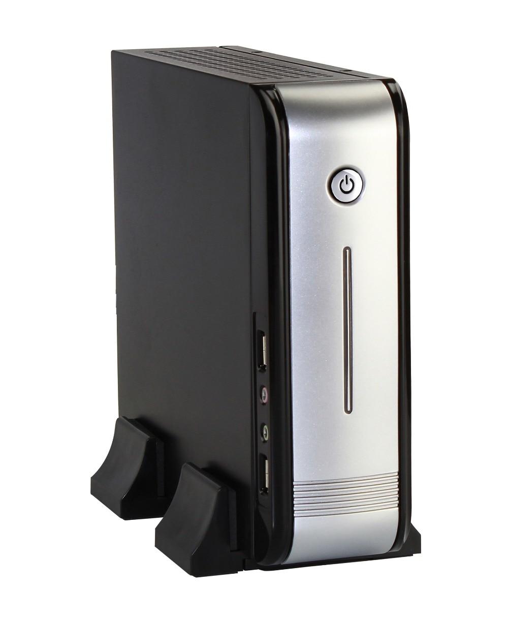 Cheap desktop computer - Aliexpress Com Buy Realan 3015 Mini Itx Commercial Desktop Computer Sgcc Office Computer Cheap Desktop Pc Case Without Power Supply From Reliable Pc Case