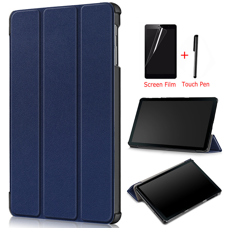 Ultra-thin Magnetic Folio PU Leather Case for Samsung Galaxy Tab A T510 T515 10.1