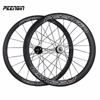fixie bicycle wheels 700C 38mm Front 50mm Rear mixed Clincher Carbon Fixed Gear bike parts Wheelsets V brake systems fietswielen