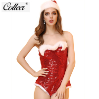 COLLEER Charm Christmas Underwear Women S Sexy Lingerie Red Bra Set For Women Christmas Gift