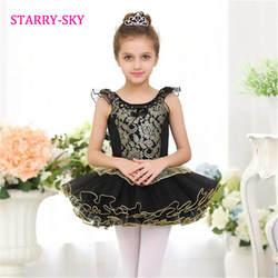 Новое поступление детская обувь для девочек черный классический балетные костюмы юбка-пачка платье по индивидуальному заказу одежда для