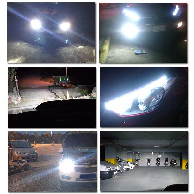 2018 Новый P6 110W 10400LM светодиодный фар Conversion Kit лампочки Canbus H4 H7 H11 9005 9006 H13 D2 D1 HB3 9004 9007 - 5