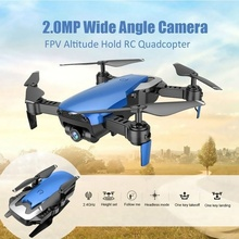 Headless Mode Quadcopter Remote Control 2.4GHz 4 Axis Gyro HD WIFI Wide Angle Camera RC Drone Folding FPV Drone Aircraft 668-Q1W