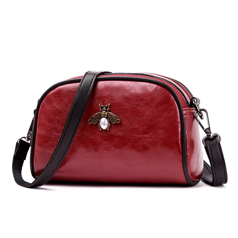 red Del Perla Decorazione Modo Obliqua Tendenza brown Nero Il Sacchetto Della Marca Quadrato Qualità Spalla Di Borsa Borse Lusso Piccolo Alta verde Signore S1qpwX67