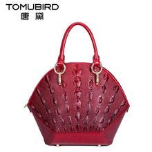 Famous brand top quality dermis women bag  The new shoulder bag Messenger bag The new 2016 pearl fish pattern handbag Shell bag