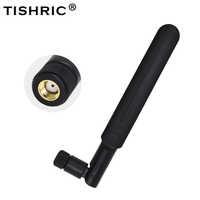 Tishic Paddle 2,4 GHz 5,8 Ghz 8DBI 3G 4G GSM LTE WIFI Antena WIFI con RP-SMA conector hembra para Antena Router inalámbrico