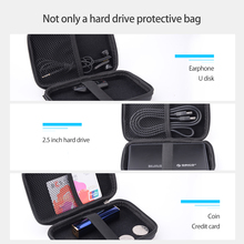 ORICO 2 5 inch Portable External Hard Drive Protection Bag Dual Buffer Layer HDD Protector Case PHD cheap CN(Origin) Neoprene ORICO PHD-25 2 5 HDD Protection Bag Interlayer design Black Black Blue Red Purple 160*110*38mm 2 5 inch HDD Storage Case