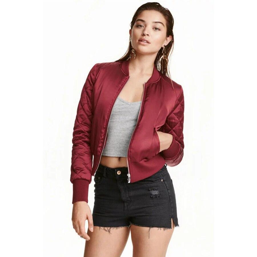 Ladies Fashion Short Padded Jackets