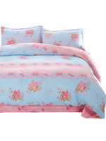 UNIKEA 2016 Summer Cotton Bedding Sets Bird on The Branches Wind Bed Sheets Quilt/duvet Cover Pillowcase King Queen Full Twin