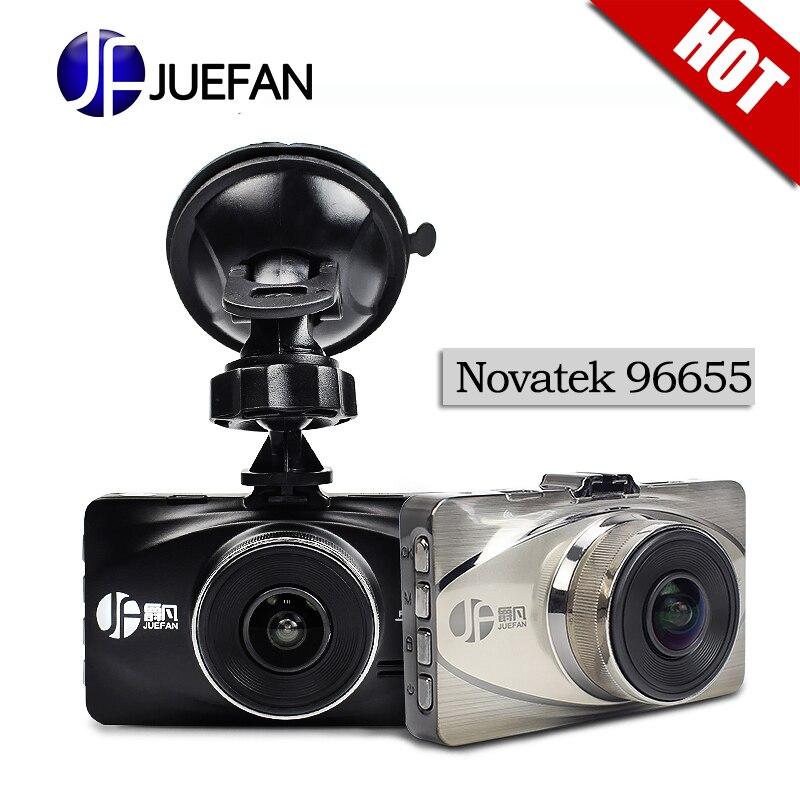 JUEFAN a119 Car DVR full HD 1080P Novatek 96655 Car Camera Recorder Black Box 170 Degree 6Lens WDR Supper Night Vision dash cam