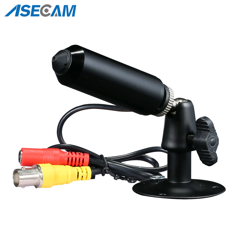 New Super HD AHD 3MP Starlight Mini CCTV Video Surveillance Small Vandal-proof Black Metal Bullet Security Camera 3.7mm Lens