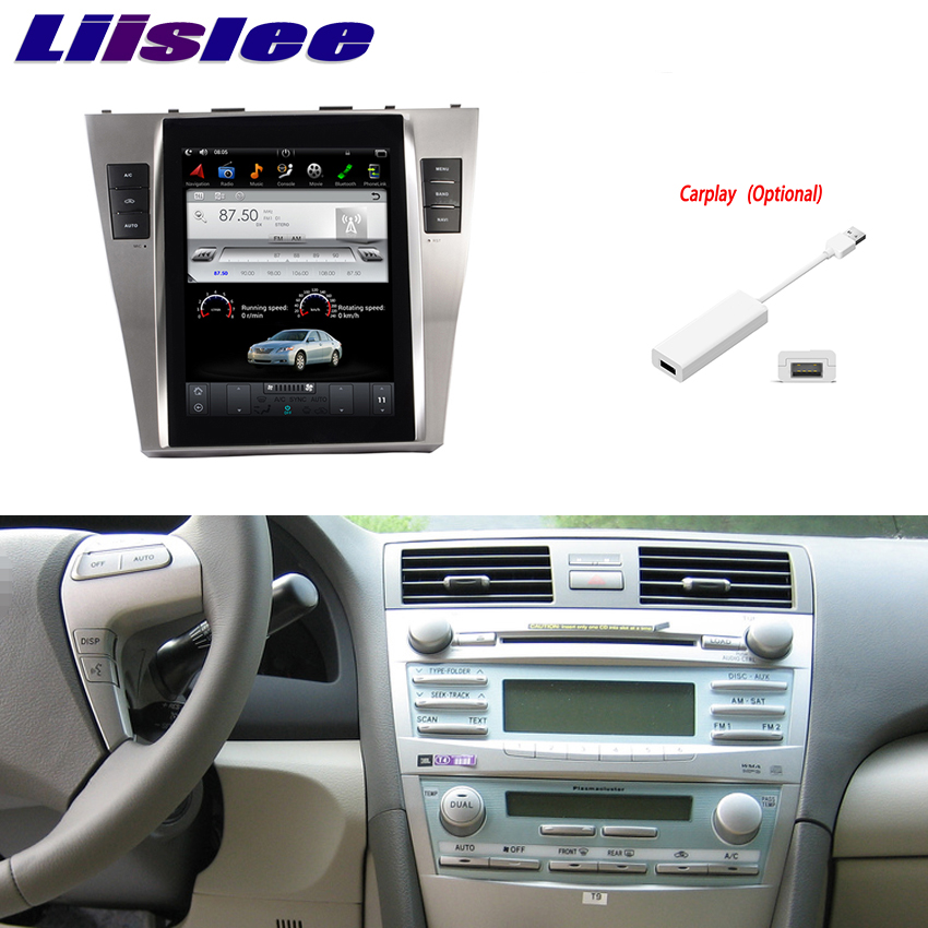 "Liislee 10.4"" Inch Android For Toyota Camry 2007~2011 Car Radio Audio Video Multimedia DVD Player WIFI GPS Navi Navigation"