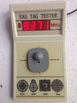 цена на EAS tag tester, EAS tag frequency tester 8.2mhz for soft label and hard tag