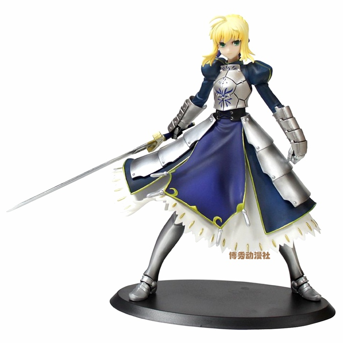 different styles Fate Stay Night Zero Saber Lily Excalibur the Sword of Victory Toy Anime Model Toys Action Figure PVC fate stay night zero saber alter vodigan ver 18cm mask hammer sword toys cartoon pvc action figure c100