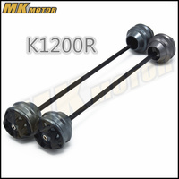 Free shipping For BMW K1200R 2005 2007 CNC Modified Motorcycle Front and rear wheels drop ball / shock absorber
