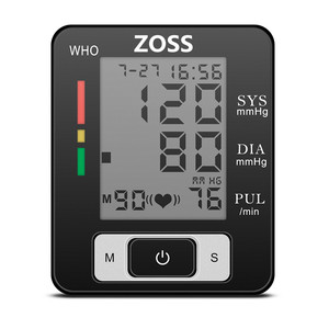 Image 2 - ZOSS ภาษาอังกฤษหรือรัสเซียข้อมือ Sphygmomanometer Presure เลือด Meter Monitor Heart Rate PULSE แบบพกพาเครื่องวัดความดันโลหิตแบบพกพาเครื่องวัดความดันโลหิต BP