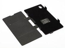 3500 мАч черный Внешняя Батарея Резервного Копирования Power Pack Флип Кожаный Чехол зарядное устройство для Sony L39h Xperia Z1 + Подставка + розничная коробка