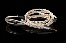 silver plate DIY upgrade Earphone Cable For IE80 IE8 IE8I 1.2m audio cable headphone repair cable