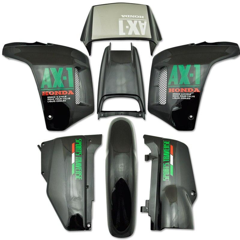 LOPOR ABS пластик Обтекателя обтекатель кузова Комплект для Honda NX250 AX в-1 в NX 250 AX1 спортивных траверс черный Новый