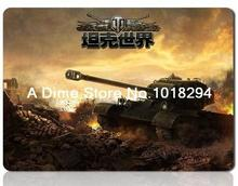World of tanks mouse pad computer font b accessories b font mousepad font b laptop b