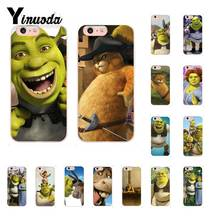 Yinuoda Stupid and lovely Shrek TPU Phone Case Cover Shell for iPhone 8 7 6 6S Plus X XS MAX 5 5S SE XR 10 11 11pro 11promax yinuoda macaroons and cupcakes cute girly diy luxury case for iphone 8 7 6 6s plus x xs max 5 5s se xr 10 11 11pro 11promax