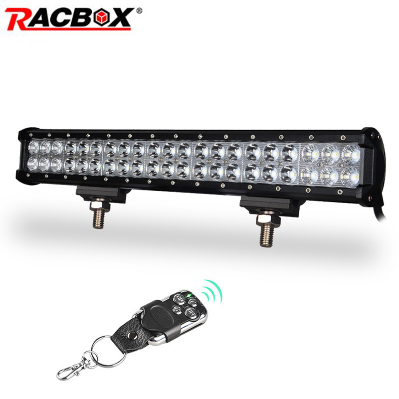 126W 20 inch Offroad LED Work Light Bar Combo Beam 12V For Truck Tractor Trailer ATV UTV SUV 4WD 4X4 Boat Extra Light fog light 5 5 inch 80w led work light 12v 60v dc led driving offroad light for boat truck trailer suv atv led fog light waterproof