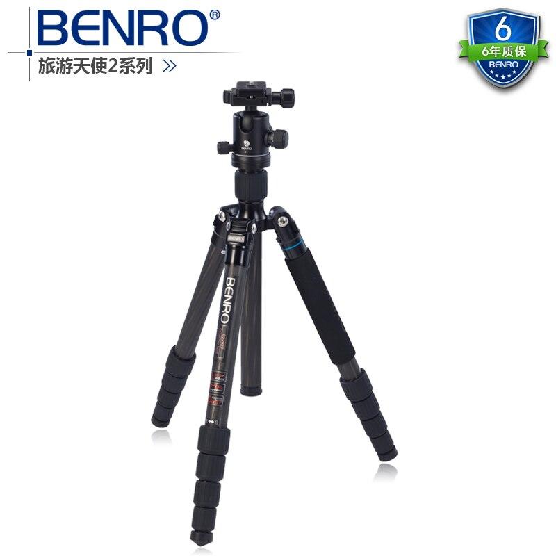 C2292TB1 tête de trépied professionnel portable caméra reflex en fibre de carbone CD50