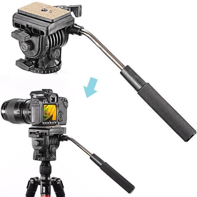 Neewer Professional Flexible Aluminum Camera Tripod Stand Monopod Tripod Head for Canon Nikon Sony SLR Camera